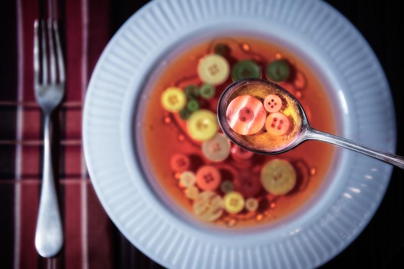 Soup buttons