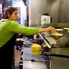 "Maria Guerrero cooks tortillas made from masa dough at T/ACO in Boulder.  <br /> For more photos go to  <a href=""http://www.dailycamera.com"">http://www.dailycamera.com</a><br /> (Autumn Parry/Staff Photographer)<br /> May 18, 2016"