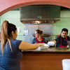 "Co-owner  Josie Payan and Benny Payan pass off orders to the waitress at Benny's Tacos in Longmont.<br /> For more photos go to  <a href=""http://www.dailycamera.com"">http://www.dailycamera.com</a><br /> (Autumn Parry/Staff Photographer)<br /> May 18, 2016"
