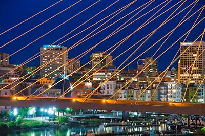 A Bridge View of Downtown Tacoma