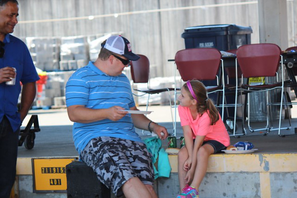 Ryan and his daughter.