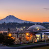 Sunrise Over Tacoma and the UW Campus