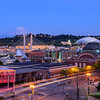Sunset over Downtown Tacoma
