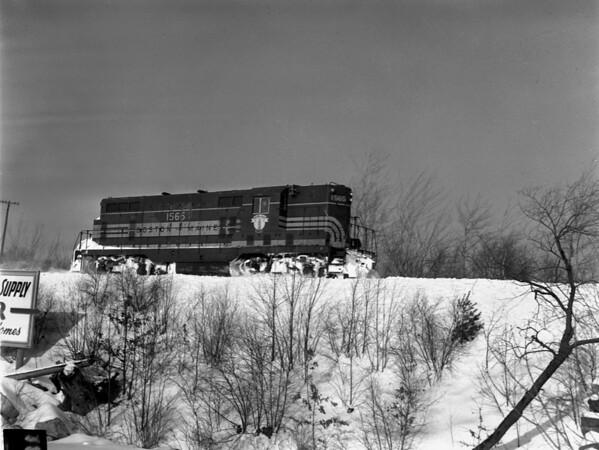 B&M snow, Holden, opening Gardner Line and return at Chaffins - TAA-B&M-025-2K