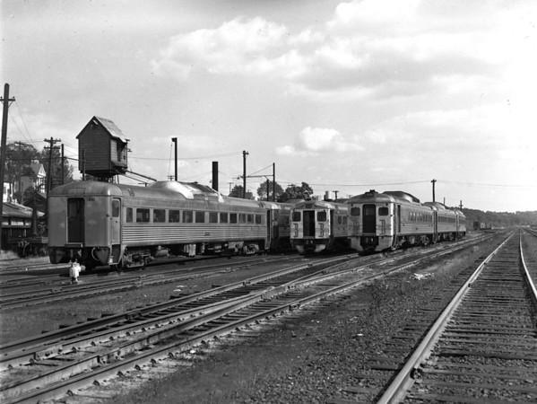 B&M Fitchburg fleet of Budd cars for Boston - TAA-B&M-038-4K