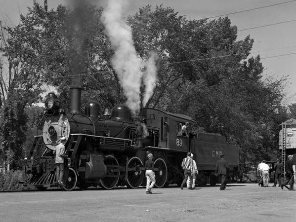 #89 at Steamtown, Bellows Falls (Riverside) VT.  TAA-ST-015-3_K