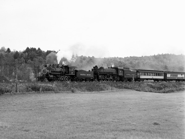 #15 & #1293 approaching Chester, VT.  TAA-ST-018-2_K