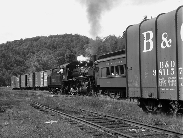 #89 at Steamtown, Bellows Falls (Riverside) VT.  TAA-ST-015-5_K