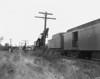 Big Hook D100 at NH wreck - Worcester-Auburn line. - TAA-NH-009-5K