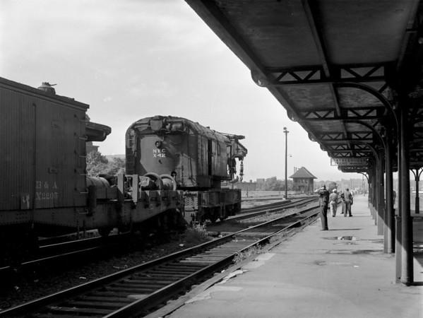 NYC-Worcester, MA Union Station derailment