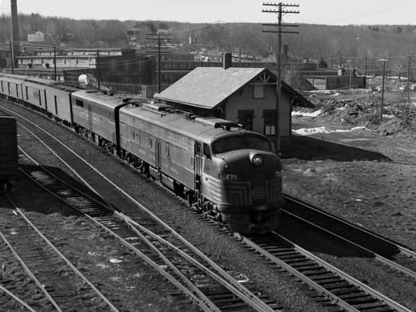 NYC-Jamesville and Jamesville Station, eastbound mail & express
