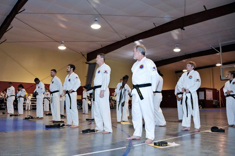 TKD 2014 IOP Black Belt Test & Beach Workout-289