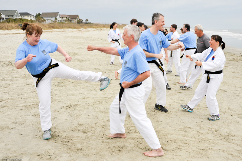 TKD 2014 IOP Black Belt Test & Beach Workout-357