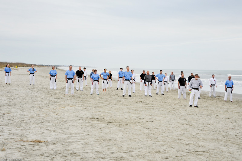 TKD 2014 IOP Black Belt Test & Beach Workout-340