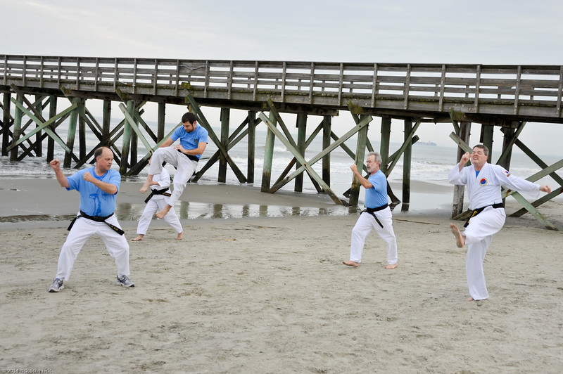 TKD 2014 IOP Black Belt Test & Beach Workout-333