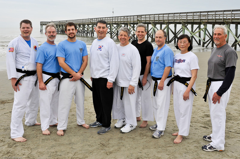 TKD 2014 IOP Black Belt Test & Beach Workout-367