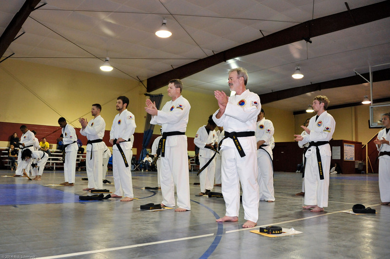 TKD 2014 IOP Black Belt Test & Beach Workout-294