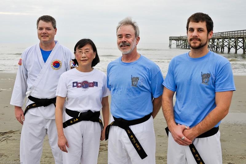 TKD 2014 IOP Black Belt Test & Beach Workout-368