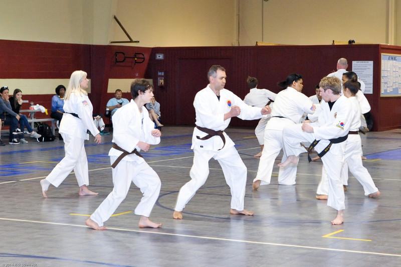 TKD 2014 IOP Black Belt Test & Beach Workout-254