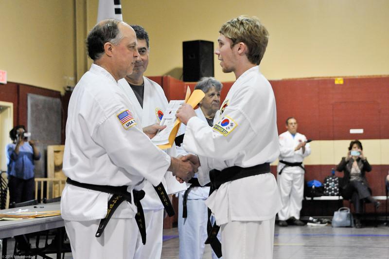 TKD 2014 IOP Black Belt Test & Beach Workout-281