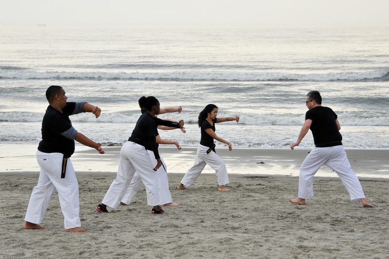 TKD 2014 IOP Black Belt Test & Beach Workout-325