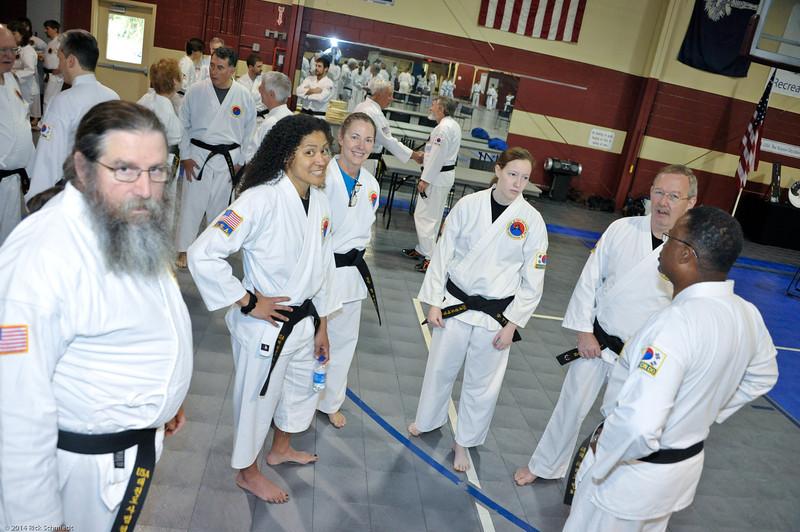 TKD 2014 IOP Black Belt Test & Beach Workout-136
