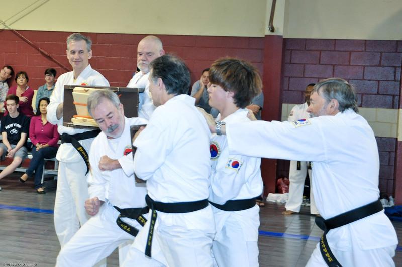 TKD 2014 IOP Black Belt Test & Beach Workout-181