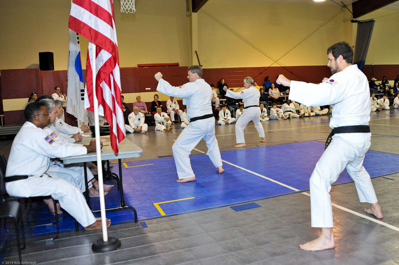 TKD 2014 IOP Black Belt Test & Beach Workout-228