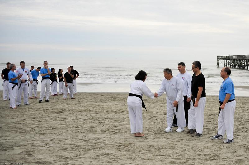 TKD 2014 IOP Black Belt Test & Beach Workout-321
