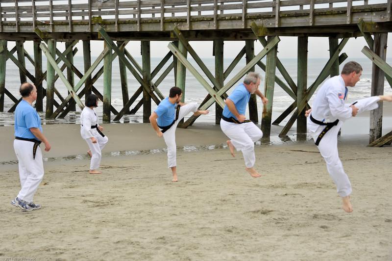 TKD 2014 IOP Black Belt Test & Beach Workout-344