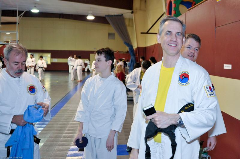 TKD 2014 IOP Black Belt Test & Beach Workout-112