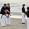 TKD 2014 IOP Black Belt Test & Beach Workout-336