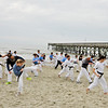 TKD 2014 IOP Black Belt Test & Beach Workout-360