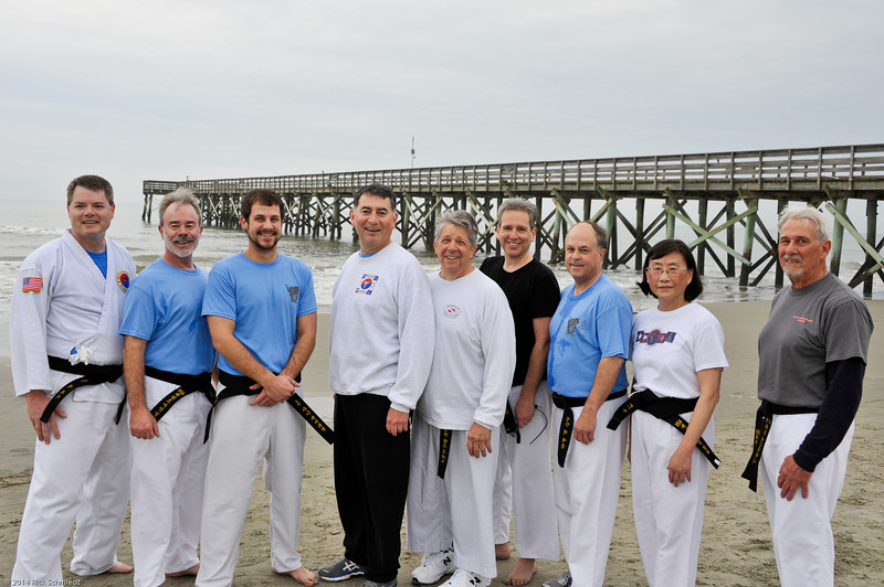 TKD 2014 IOP Black Belt Test & Beach Workout-366