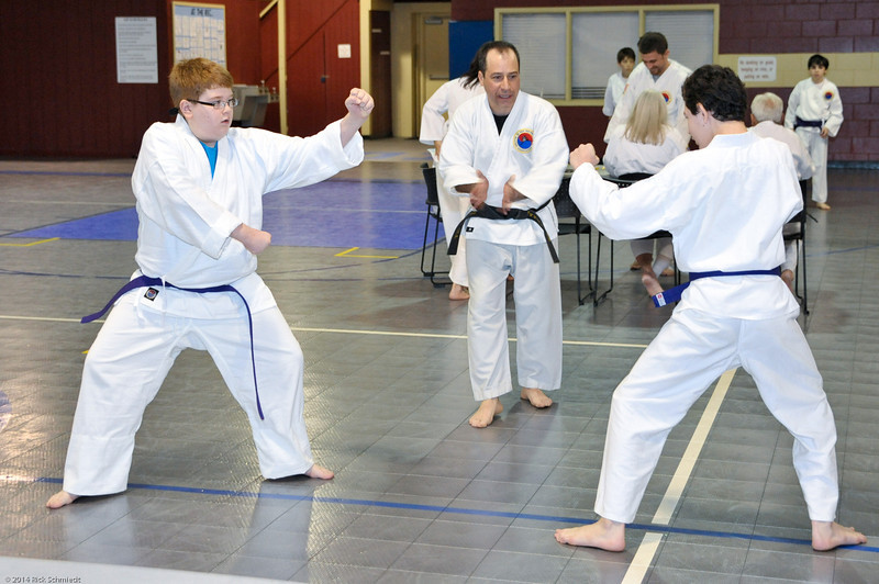 TKD 2014 IOP Black Belt Test & Beach Workout-149