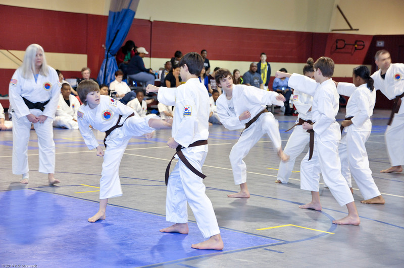 TKD 2014 IOP Black Belt Test & Beach Workout-234