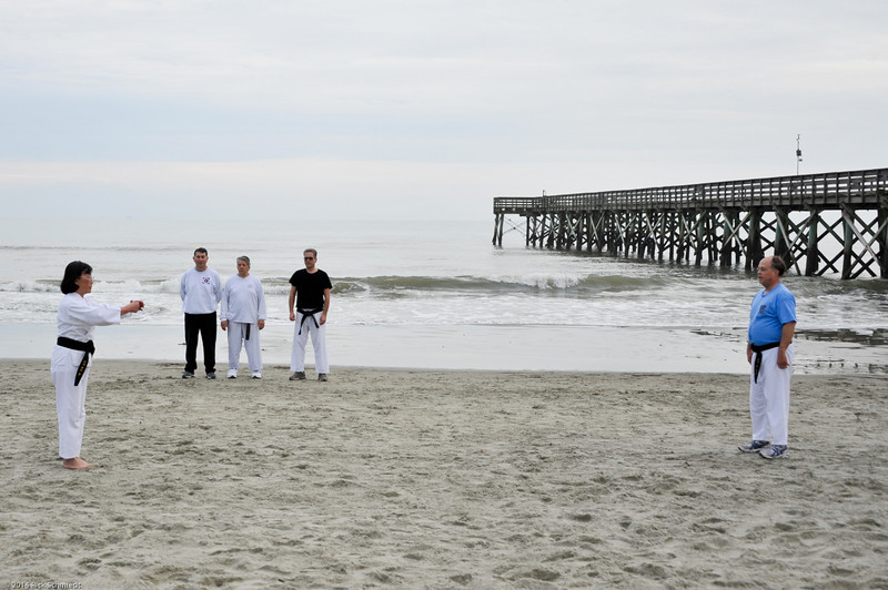 TKD 2014 IOP Black Belt Test & Beach Workout-308