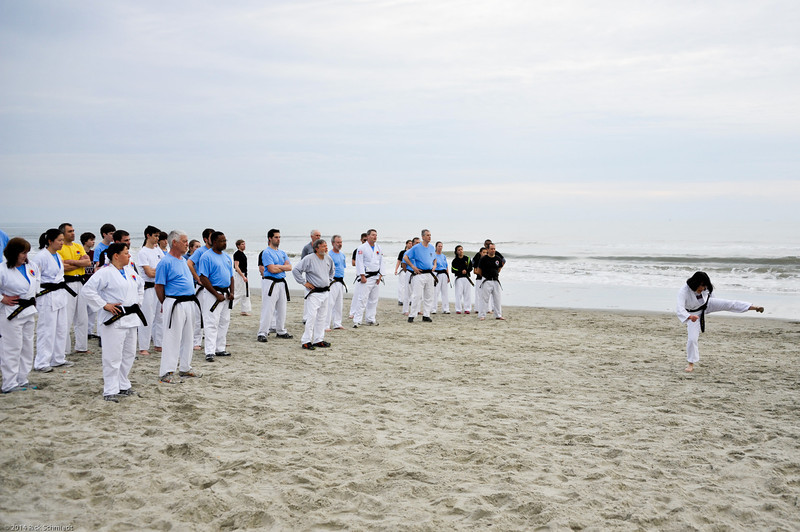 TKD 2014 IOP Black Belt Test & Beach Workout-311