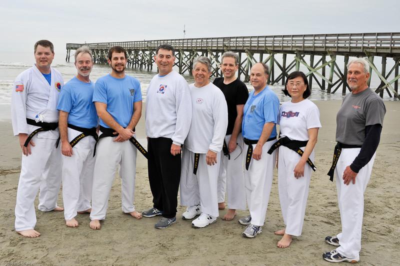 TKD 2014 IOP Black Belt Test & Beach Workout-365