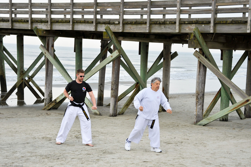 TKD 2014 IOP Black Belt Test & Beach Workout-327