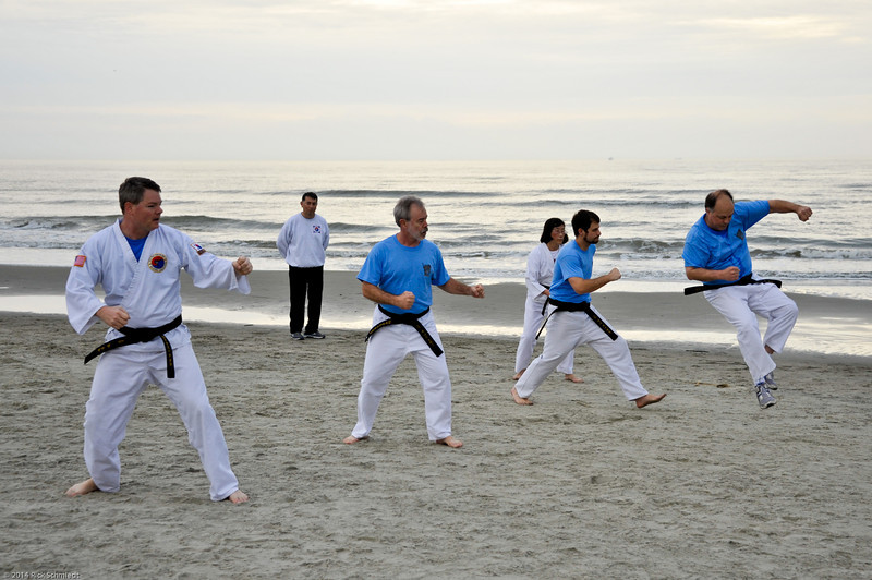 TKD 2014 IOP Black Belt Test & Beach Workout-328
