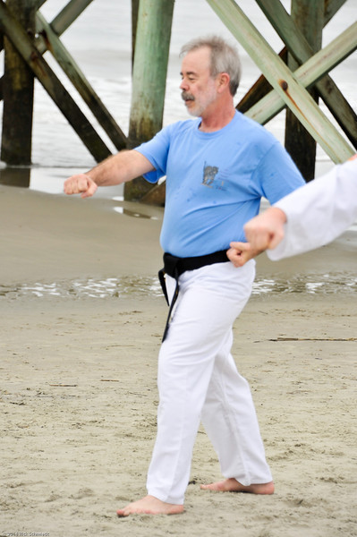 TKD 2014 IOP Black Belt Test & Beach Workout-349