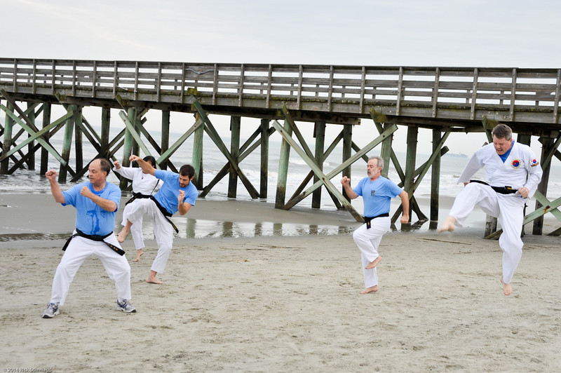 TKD 2014 IOP Black Belt Test & Beach Workout-334