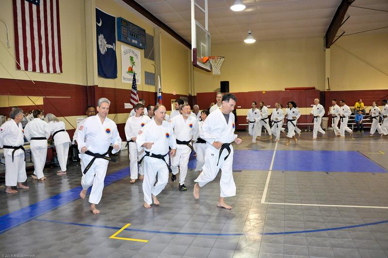TKD 2014 IOP Black Belt Test & Beach Workout-120