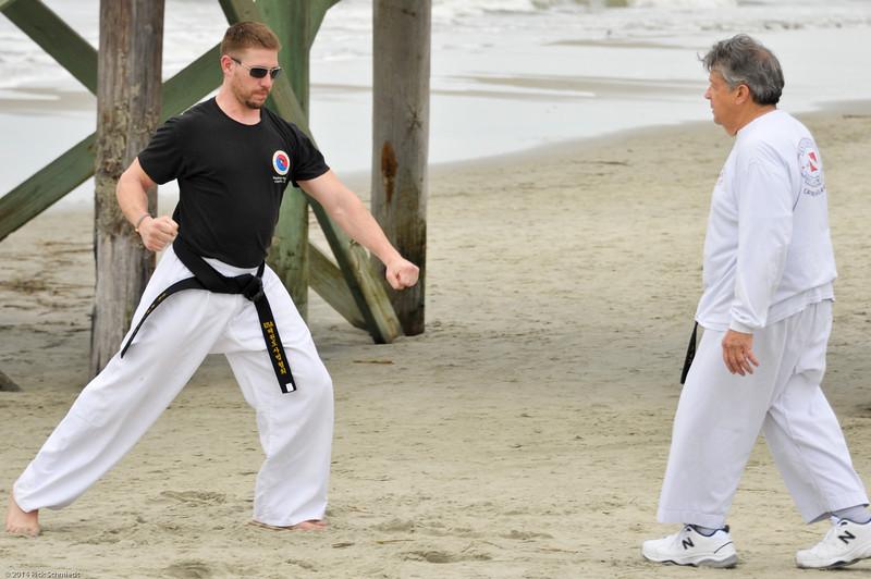 TKD 2014 IOP Black Belt Test & Beach Workout-346