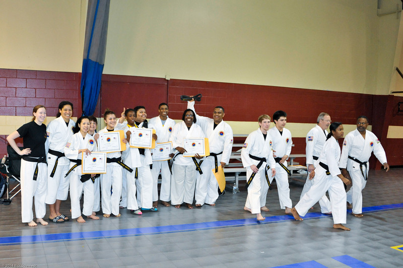 TKD 2014 IOP Black Belt Test & Beach Workout-300