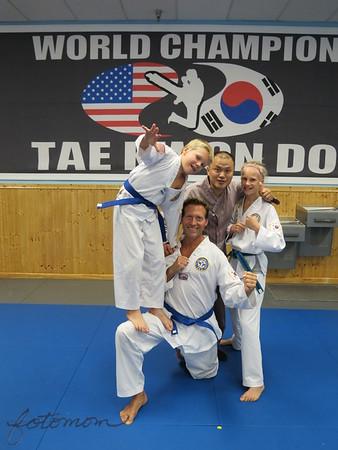 TKD Belt Testing 082215