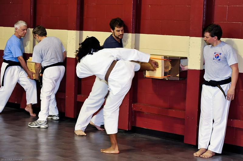 USATMA Board Breaking Practice 2012 IOP-116