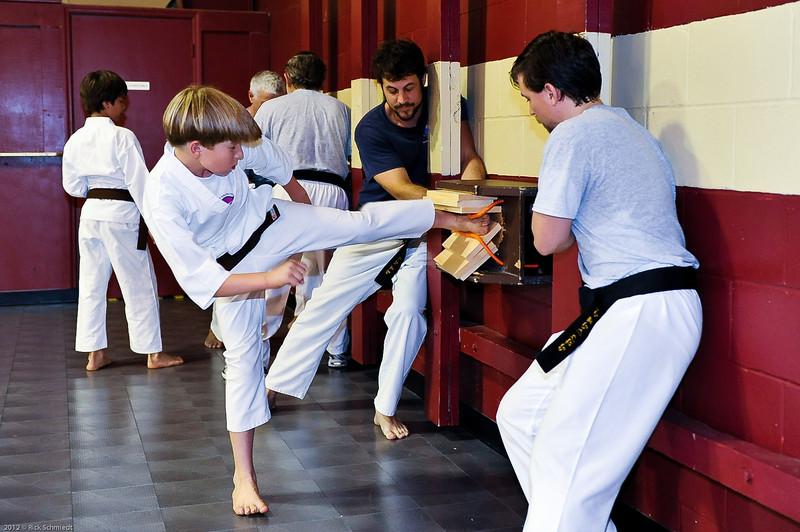 USATMA Board Breaking Practice 2012 IOP-115