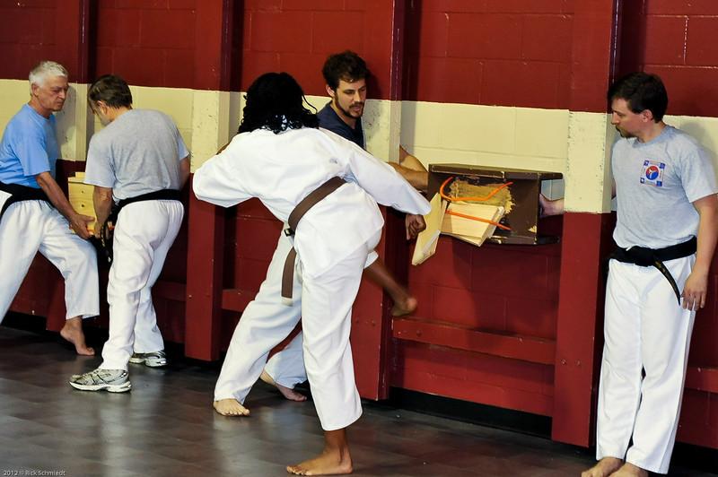 USATMA Board Breaking Practice 2012 IOP-117